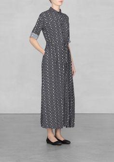 Star print maxi dress | Star print maxi dress | & Other Stories