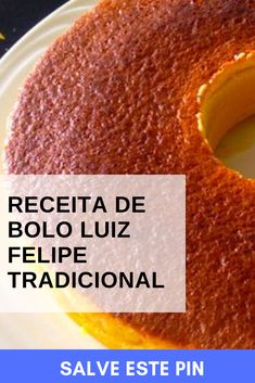 Brazillian Food, Peach Cake, Cornbread, Carne, Cantaloupe, Cake Recipes, Banana, Sweets, Fruit