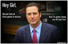 Hey, Girl Mike Matheny - sweep