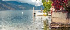 Eenden en boten, allebei veel te zien op het Lago d'Orta.