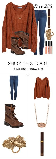 """Day 288 of 2016"" by jasietote ❤ liked on Polyvore featuring Paige Denim, Steve Madden, Kendra Scott, Madina Visconti di Modrone, Tom Ford and Bobbi Brown Cosmetics"
