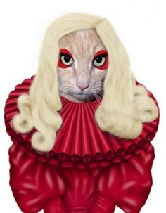"""""""For those of you taking your cat out this Halloween, you may want to consider this costume option"""" suggested Catty Gaga."""