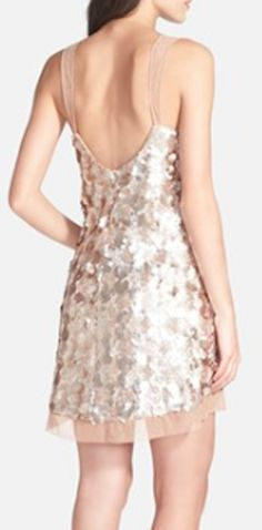 gorgeous champagne sequin dress  http://rstyle.me/n/jg34hpdpe