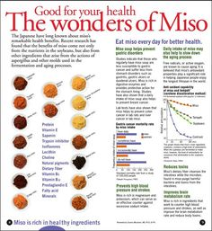 Health Benefits of Miso by Terss, via Flickr
