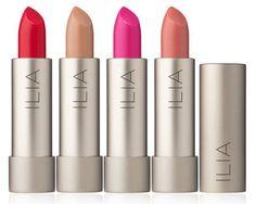 Nuestros lipsticks de Ilia Beauty entre las ideas de regalo para San Valentín del blog I Want Pretty.  #GaraMeansGood #BoutiqueOnline #BellezaNatural