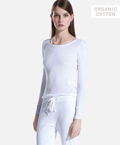 Organic full length pants - OYSHO
