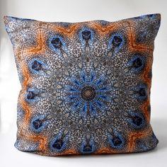 Blue Cushions, Throw Pillows, Cover, Decor, Blue Pillows, Feathers, Linen Fabric, Yellow, Toss Pillows