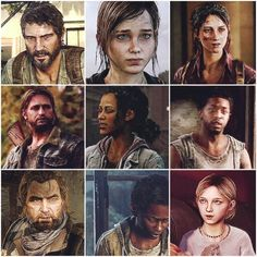 All of these characters from The Last of Us were interesting and each had a distinct personality.  Well done, developers!!
