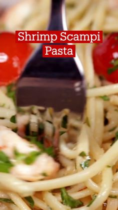 Seafood Dishes, Pasta Dishes, Shrimp Recipes, Fish Recipes, Tastemade Recipes, Good Food, Yummy Food, Cooking Recipes, Healthy Recipes