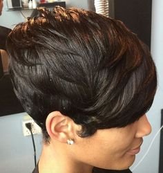Natural hair pixie via @patricehector - https://blackhairinformation.com/hairstyle-gallery/natural-hair-pixie-via-patricehector/