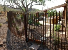 Rebar Fences Design Ideas, Pictures, Remodel and Decor