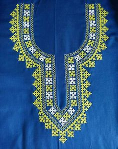 Kasuti Embroidery, Phulkari Embroidery, Hand Work Embroidery, Modern Embroidery, Embroidery Dress, Embroidery Stitches, Embroidery Patterns, Embroidery Neck Designs, Embroidery Suits Design