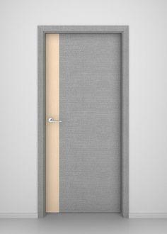 Grey Oak Stream Interior Door