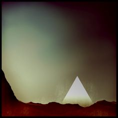 Sci-Fi Pyramid - Great Colors. Love the lens vinette