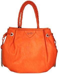 Boho Orange Hobo bag by #JessicaSimpson! #braids #orange #summermusthave