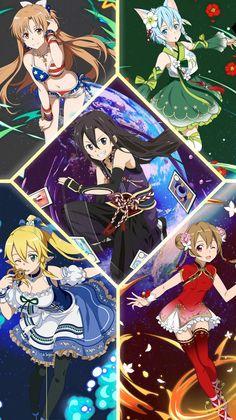 Miraculous, Sao Memes, Kirito Asuna, Anime One, Anime Girls, Sword Art Online Kirito, Online Anime, Fantasy Girl, Magical Girl