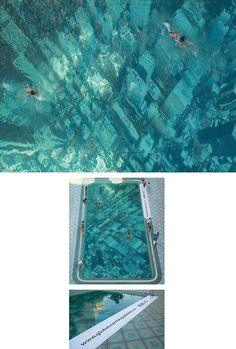 Global Warming pool in Mumbai, India, has been built to raise awareness about the threat of sea level rises. It was constructed by attaching a giant aerial photograph of the New York City skyline to the floor of the pool, giving the illusion of a submerged city. By advertising agency Ogilvy & Mather for HSBC to promote its project tackling climate change.