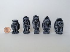 Hey, I found this really awesome Etsy listing at https://www.etsy.com/listing/192726632/miniature-gargoyles-for-a-gothic