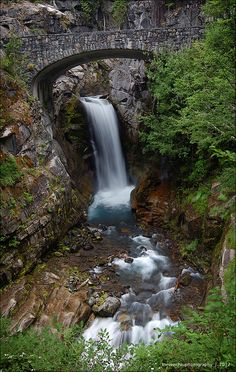 Christine Falls, Mt. Rainier National Park, Washington