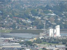 Mangere Bridge / Onehunga -- Taken from One Tree Hill -- Auckland -- New Zealand -- 5th October 2013