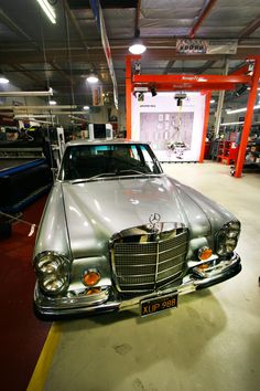 While doing a search for an interesting AMG engine swap to feature here, we came across this story that we actually remember reading about a few years back. Mercedes S Class, Mercedes Benz 300, Engine Swap, Bike, Cars, Vehicles, Bicycle, Autos