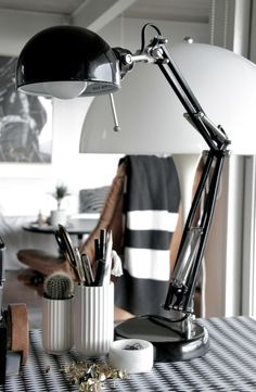 home office details. from Hallingstad blog