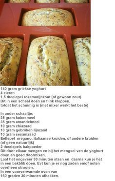 Griekse yoghurt brood