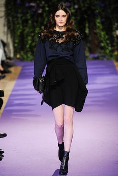 Alexis Mabille Fall 2014 Ready-to-Wear Fashion Show - Daphne Velghe.