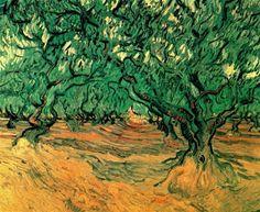 Olive Trees 1889 Vincent van Gogh