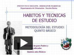 PPT – HABITOS Y TECNICAS DE ESTUDIO PowerPoint presentation | free to download