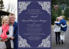 The Invitation Maker offers high quality, custom wedding invitations with a unique 1-on-1 experience that can be done entirely online. Check out our other classic designs at theinvitationmaker.com