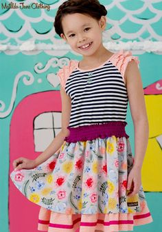 Happy and Free, Spring 2016: Gummi Fruits Dress