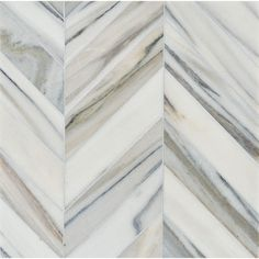 Talya Multi Finish Bosphorus Sky Marble Waterjet Mosaics 13 7/16x 13 7/16 - From Country Floors of America