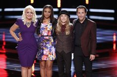 Our top 4 finalist!! I am happy, my top 3 are heading to the finale! Woot Woot! I love Joshua, Sawyer, and Meghan!! Dont make me choose, just let it be one of them! lol The Voice - Season 8