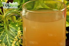 DIY ginger tea