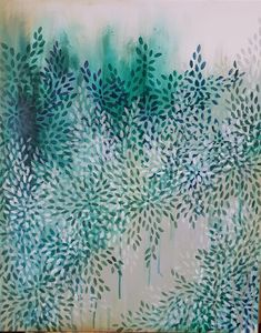 Healing Path by the GreenWay II left Green Abstract Landscape Healing Path by the GreenWay II left Green Abstract Landscape Carol C Shades of TEAL By Sydney contemporary nbsp hellip Painting australian Abstract Landscape Painting, Landscape Art, Landscape Paintings, Abstract Art, Contemporary Landscape, Contemporary Artists, Beautiful Series, Shades Of Teal, Buy Art Online