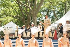 Jazz Age Lawn Party Evokes the Roaring