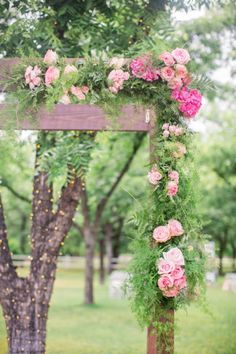 Garden Wedding in Ar
