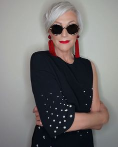 Maye Musk, model and mother of Elon Musk; Mature Fashion, Older Women Fashion, Fashion Over 50, Womens Fashion, Punk Fashion, Fashion 2018, Lolita Fashion, Fashion Boots, Fashion Brands