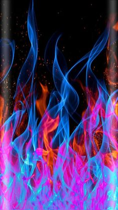 Abstract Flames Wallpaper by Sarchotic - - Free on ZEDGE™ Smoke Wallpaper, Neon Wallpaper, Phone Screen Wallpaper, Aesthetic Iphone Wallpaper, Colorful Wallpaper, Cellphone Wallpaper, Aesthetic Wallpapers, Marvel Wallpaper, Disney Wallpaper