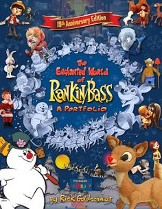 """Rankin & Bass used a variety of well known actors to voice characters or narrate  their stories, they even made the """"puppetts"""" look loke the actors!"""