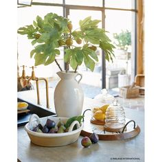 These fantastic artificial fig branches are extremely realistic and come complete with faux figs. A real statement piece, bringing immediate impact to any room. Bourton On The Water, Warm Kitchen, Faux Flowers, Artificial Flowers, Flower Arrangements, Restoration, Wedding Planning, Floral Design, Delicate