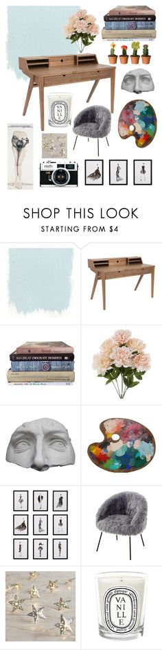 """""""my studio"""" by imogen-leblanc ❤ liked on Polyvore featuring interior, interiors, interior design, home, home decor, interior decorating, Romanelli, Frontgate, Inspired Home and Pier 1 Imports"""