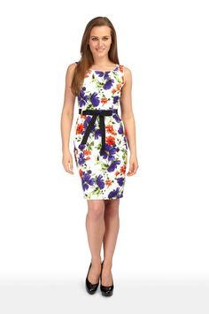 Product - Spring Floral Shift Dress
