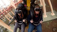 Six Flags' new VR roller coaster is both breathtaking and broken