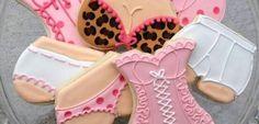 Ideias para o chá de lingerie. Docinhos decorados!