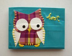Owl Duct Tape Wallet