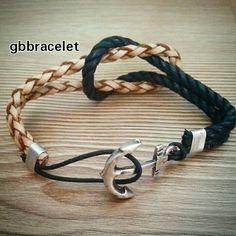 Fildişi&siyah ⚓ #gbbracelet #bracelet