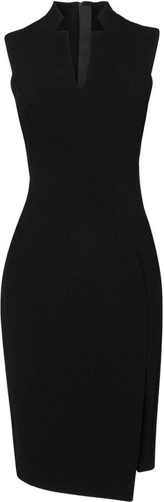 L.K. Bennett Lupina Fitted Notch Collar Dress