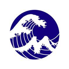 FM YOKOHAMAのロゴ:横浜のWave   ロゴストック Japanese Graphic Design, Japanese Art, Typography Logo, Logo Branding, Japan Logo, Yokohama, Type Design, Superhero Logos, Creative Art